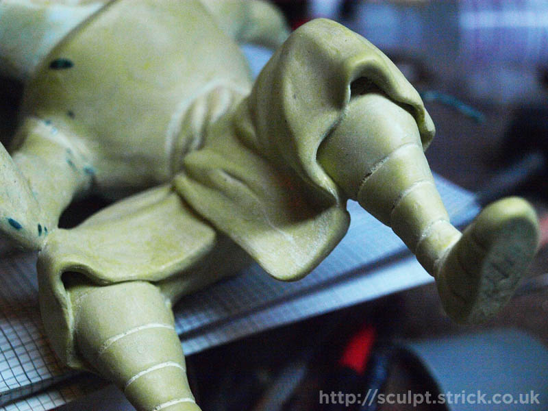 Sculpting And Model Making By Mike Strick Customising A T